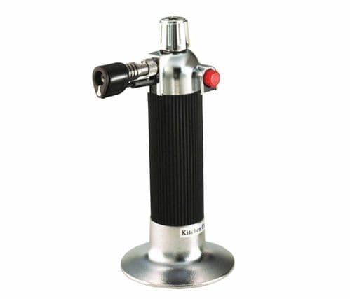Kitchen Chef Blow Torch Refillable Gas Cooking Adjustable Flame Chefs Blowtorch